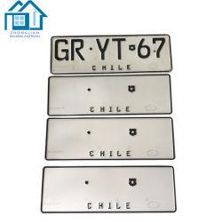 Targa di immatricolazione di alluminio su ordinazione dell'automobile dello spazio in bianco della lamiera sottile della targa di immatricolazione della fabbrica della Cina