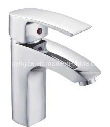 Neuer Art-Zink-Hahn-Einhebelchrom-kaltes Wasser-Badezimmer-Bassin-Hahn