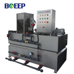 À la normale de l'unité de préparation de polymères en acier inoxydable Doseur automatique