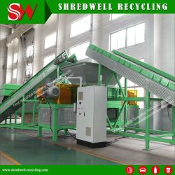 Het Schroot van de Fabriek van China/Afval/de Gebruikte Verpletterende Installatie van de Band voor het Recycling van de Spaanders van de Band