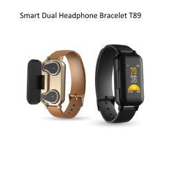 Eingebautes Bluetooth 5.0 Chip-intelligenter Uhr-Handy mit Puls-Blutdruck-Monitor-Lautsprecher-Aufruf-Musik-Uhr