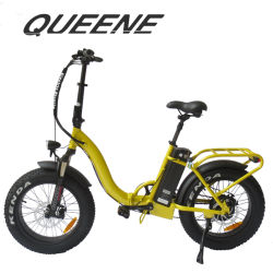 Fat Lady Queene/style montagne de pliage Ebike plié de pneus vélo électrique avec 250W à 1000W Le moteur à engrenages pour le commerce de gros