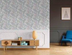 Digital-Tintenstrahl, Tintenstrahldrucken mit Blume, nahtloses Wandpapier/Tapete
