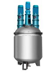 Vacuum Pharma a doppio rivestimento Shampoo/igienizzatore/sapone/adesivo/resina Steam Electric Riscaldamento liquido chimico vasca di miscelazione in acciaio inox