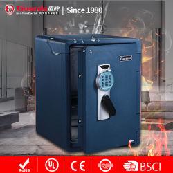 Цифровой Fire & Водонепроницаемый жесткий диск безопасность сейф с удобной Hauler колеса