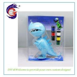 Arte y Artesanía de dinosaurios de juguete de bricolaje bricolaje Decoración de Interiores Pintura al Óleo de regalo de los niños
