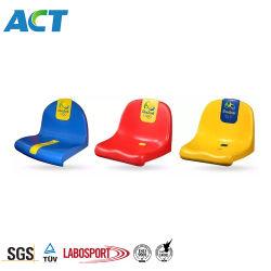 ポリプロピレンの固定プラスチック競技場の椅子、販売のためのプラスチック競技場の椅子のシート