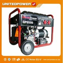 5kw 6 kw Hot Vente Accueil Utilisation du générateur de moteur à essence avec la roue et de la poignée (EPA)