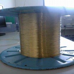 Renfort en acier recouvert de fil en laiton pour tuyau