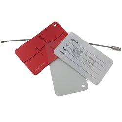 لون مختلفة ألومنيوم حقيبة بطاقة شريط حقيبة بطاقة حقيبة