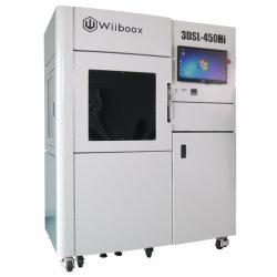 Wiiboox 3DSL450高精度な3D SLAの印字機の産業樹脂SLA 3Dプリンター立体リトグラフの急速なプロトタイピングのツール