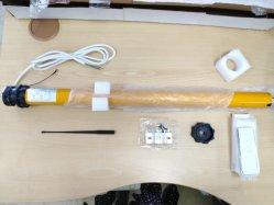 Sigate construído no cilindro receptor Shutter Estore Motor Tubular