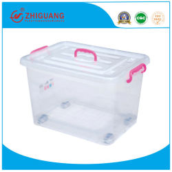 Rectangle écologique Accueil Boîte de rangement, conteneur de stockage de plastique 150L