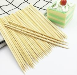 China maakte 100% natuurlijke Falcon Bamboo Skewer tafelgerei