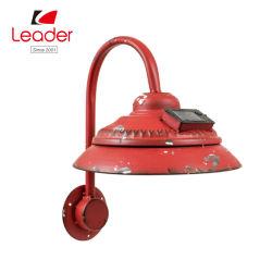 Rústica de metal caliente la venta de lámpara de luz solar para el Hogar y Jardín Decoración