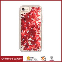 Impressora Giltter Suporte líquido cobrança caso telefone personalizada caso telefone móvel celular TPU Acessórios para iPhone 6/7/8/X