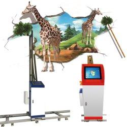 Control de PC industriales de alta resolución automática de color CMYK pared vertical 3D de la máquina de pintura