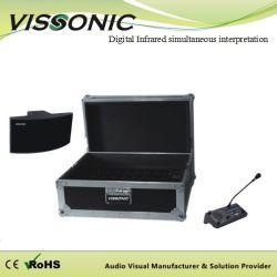 Chargeur et de la boîte de rangement pour récepteur infrarouge numérique de la traduction simultanée