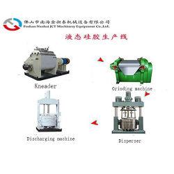 Жидкий силикон горячего расплава клея бутилкаучука клей силиконовый чехол с электронным управлением смешивающая машина вакуумной системы отопления Kneader для BMC CMC