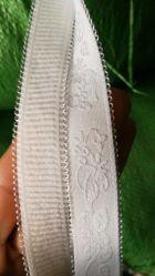 Elastisches gewebtes Material Stocklot, elastisches Band-Aktien, elastisches Gummiband, elastischer Material-Großverkauf, weißes Gummiband lagern, elastische Büstenhalter-Brücken, Unterwäsche-Zubehör zu viel