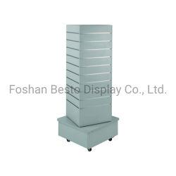 슬레이트월 4면 타워/회전식 디스플레이 타워는 슬래트월의 다양한 기능을 갖추고 있습니다