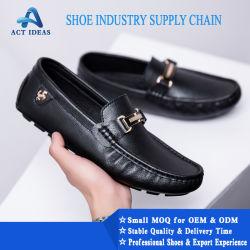 2019 Populares actividades artesanais homens MoccasinSapato Oxford Calçado Casual personalizado de calçado de couro