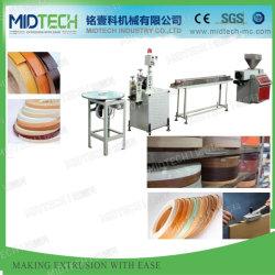 Cordón de la esquina de PVC plástico/Cantos/Perfil de banda de la extrusora extrusora/maquinaria de fabricación
