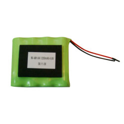 NIMH AA 4.8V 1200mAh Rechargeable Battery