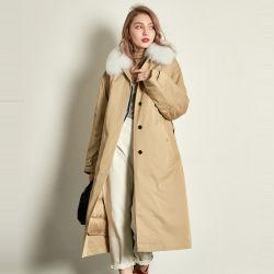 As vendas directas de fábrica de inverno Fashion mulheres super quente casaco jaqueta para baixo Real