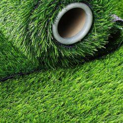 Kunstmatig Gras 30mm het het Synthetische Gras van de Voetbal/Gazon van het Stadion van het Voetbal