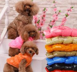 La qualité Down Jacket Pet Vêtements Vêtements Fleeced Chien chaud