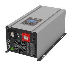 Fuera de la red de baja frecuencia personalizada Monofásico verdadera Onda senoidal pura inversor 230VCA 24VDC 3kw con cargador de CA y función AVR