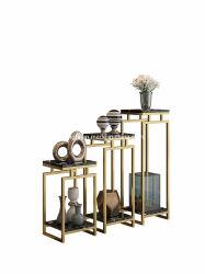 プラントは屋内屋外の植木鉢の結婚式の装飾のウォール・ディスプレイの金属の花立場を立てる