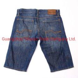 Vestuário de segunda mão de alta qualidade de estilo africano usado Homem Jeans Calças curtas para o verão