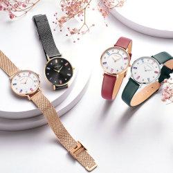 Красочные кристально чистый диск набора команд Мода часы для женщин