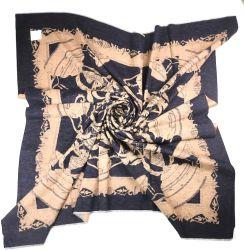 120 سم*120 سم 100% من الحرير المحبوك بشذوات السيدات Sf19084-1
