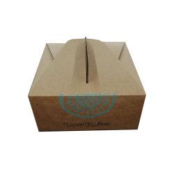 新製品の習慣によって印刷されるケーキかドーナツ紙箱