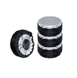 Coperchio resistente della gomma di ricambio del coperchio della gomma delle gomme 2020 e degli accessori delle rotelle di ricambio di memoria dell'automobile del tempo del coperchio di rotella del pneumatico del poliestere dell'OEM per la jeep