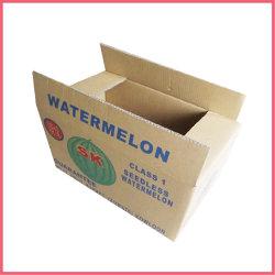 Cartone impaccante stampato abitudine del contenitore di frutta del documento ondulato