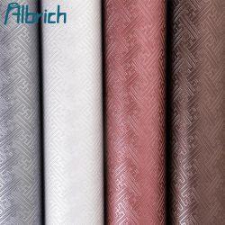 Decoração Water-Proof Tecidos para estofos de folhas de couro artificial Sofá