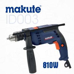 Trapano elettrico a percussione Makute Power Tools da 13 mm con chiave a disco da 610 W.