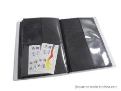 PVC帯出登録者の製造業者のカスタム名刺/名刺の本の写真アルバム