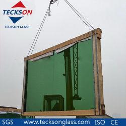 oscurità Greeen/vetro riflettente verde-cupo di 4-6mm per il portello scorrevole di Frameless