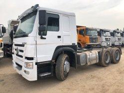 El chino Original de mejor venta de camiones pesados Condiiton Euro III 6X4 10 Neumáticos usados HOWO tractor camión Modelo 2015 Modelo 2016 de 20 toneladas de 30 toneladas para la minería