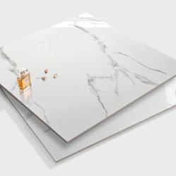mattonelle di pavimento bianche come la neve della porcellana di alta lucentezza di Foshan di pollice 24X24