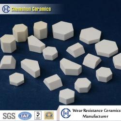 El óxido de aluminio cerámica cerámica mosaico hexagonal como Abraisve cerámica