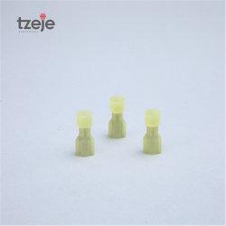 Bornes électriques de type N en nylon d'usine, fiche mâle entièrement isolée Et les sectionneurs Fdfn femelles