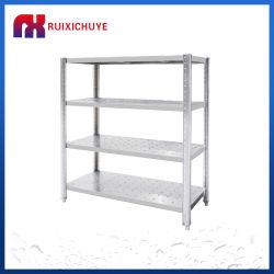 سوق ساخنة رفوف الفولاذ المقاوم للصدأ التخزين الرفوف متوسطة الحجم رفوف التخزين المطبخ الرفوف