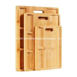 高質のタケ chopping 板の切取り板 Kitchenware を卸しで