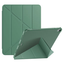 حقيبة ظهر جديدة من البولي يورثان المتلدن بالحرارة (TPU) مع جلد البولي يورثان المتلدن بالحرارة (PU) لح حقيبة الكمبيوتر اللوحي القابلة للطي لجهاز iPad Air 4 10.9 بوصة/هوائي 1 2 3